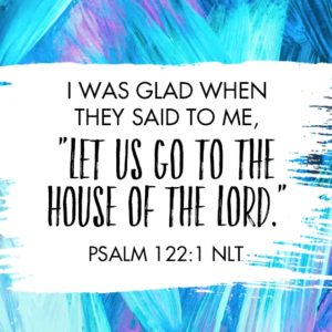 Thirsty Thursday- Lord of the House Psalm 122