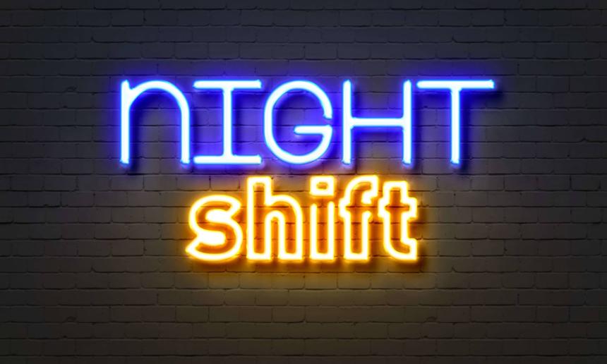 Thirsty Thursday- Night Shift Psalm 134