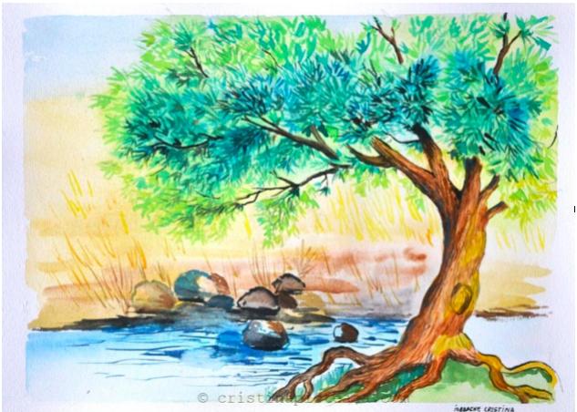 Thirsty Thursday-Psalm 1- Happy Trees