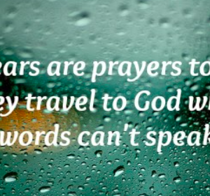 Thirsty Thursday-Psalm 6- The Power of Tears